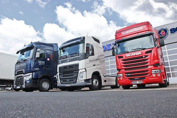 ANSH Servicepartner für Renault, Volvo und Scania-Trucks