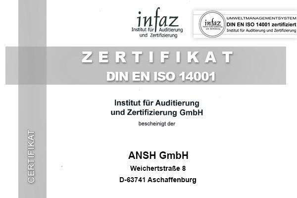 Umweltmanagement DIN EN ISO 14001