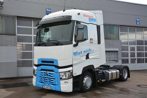 ANSH-Mietpool: Miet-LKW für Werzel Transporte