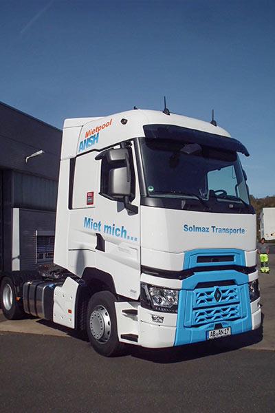 Miet-Truck Renault T 480 high SleeperCab