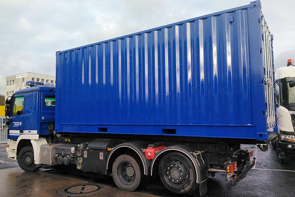 Absetzkoffer blau - THW-Technisches Hilfswerk