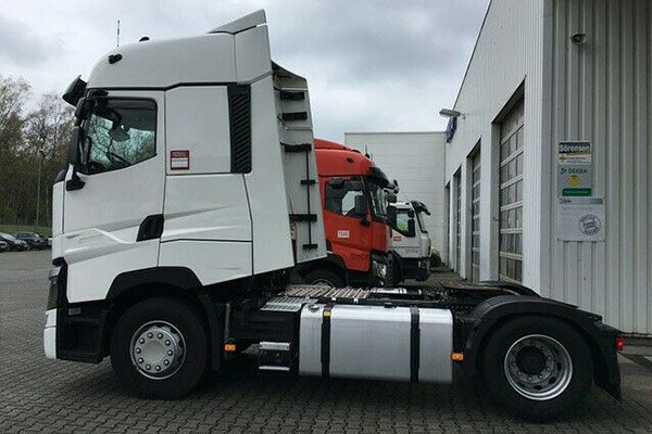 Gebrauchtfahrzeug ANSH: Renault-T520-High-Sideflaps-Kipphydraulik_