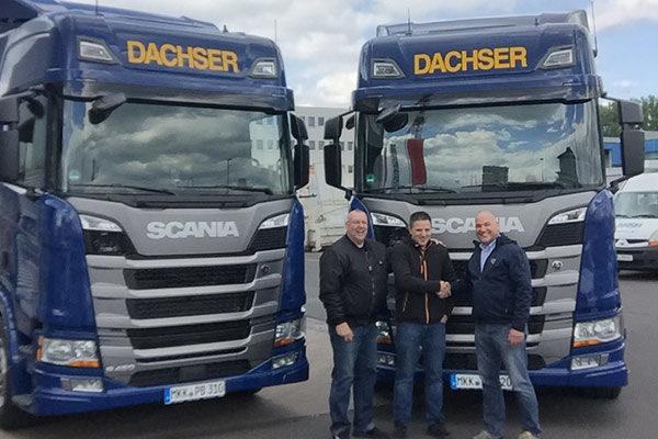 Fahrzeugübergabe Scania S 450