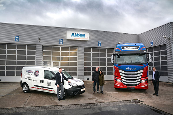 FIAT Professional-Transporter und IVECO-Truck